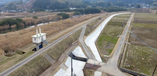 吉松地区右岸堤防強化工事