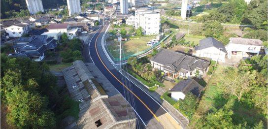 第18号県単道路整備(舗装補修)工事(中ノ工区)
