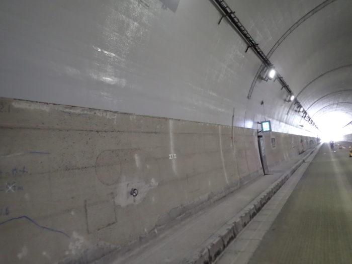 長崎自動車道 日岳トンネル覆工補強工事