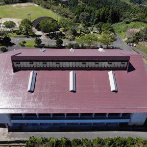 R1溝辺体育館屋根防水改修工事